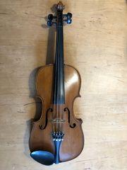 Sächsische Geige um 1920 4
