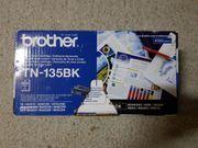 orig verpackte Brother TN 135BK