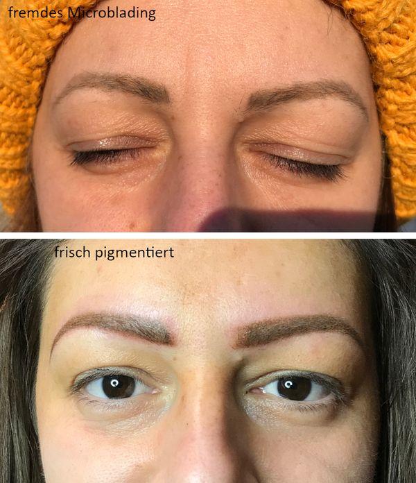 Permanent Make up für Augenbrauen