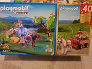 Playmobil 5457 Pferdekoppel und Kutsche