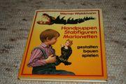 Handpuppen Stabfiguren Marionetten - Werner Waldmann