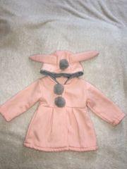 Baby Mädchen Mantel aus Baumwolle