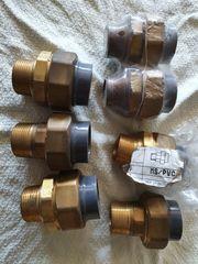 7 Übergangsverschraubungen MS PVC 11