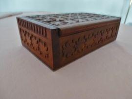 Dekoartikel - Holzkasten NEU Hochwertige Holz Schatulle
