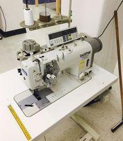 Brother T-8752C-405 Industrienähmaschine 2-Nadel Doppelsteppstich