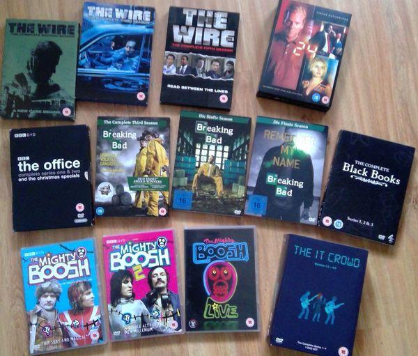 UK DVD s Serien HBO