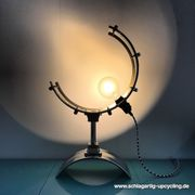 Upcycling Designerlampe Snaredrumlampe Tischlampe One