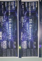 Ed sheeran Tickets 2 Stück