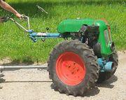 Bodenfräse Plug für Rapid Einachsschlepper