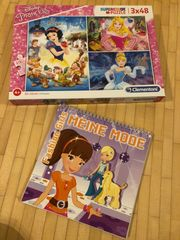 Puzzle Disney Prinzessinen Fashion Girls