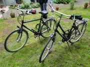 Damen- und Herrenrad