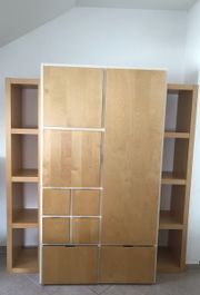 Ikea Kleiderschrank Rakke Birke weiß