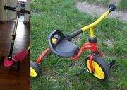 Puky Fitsch Dreirad rot und