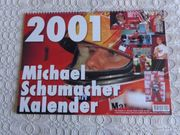 Vintage - Kalender Michael Schumacher 2001