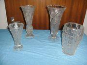 Blumenvasen aus Glass