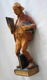 tolle ältere Holzfigur Höhe 22