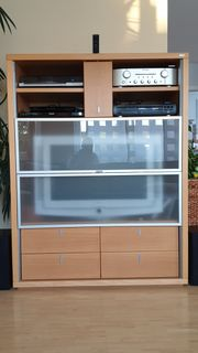 TV- Hifi- Phono-Funktionsschrank Hülsta 120x153