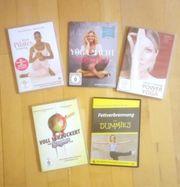 Fitness DVD Set Pilates Yoga