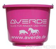 Stalleimer mit Henkel pink 12