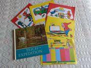Kinderartikel Kinderbuch 4 Malhefte ab