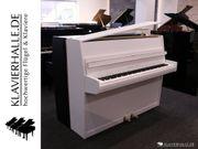 Schönes Grotrian-Steinweg Klavier weiß satiniert