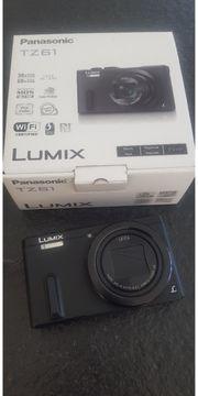 Lumix Panasonic TZ61 neuwertig