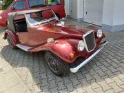 Oldtimer Cabrio Roadster Spartan KIT