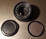 Canon FD 50mm 1 8