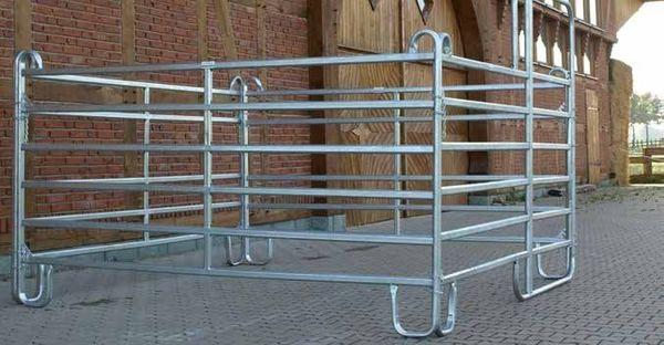 Stahl Zaunsystem Panel einfach und
