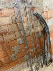 Gestell für Foliengewächshaus