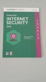 Kaspersky Internet Security 2016 - 1 User