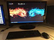 Gaming Computer mit Monitor
