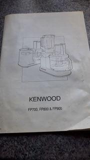 KENWOOD Küchenmaschine FP 800 electronic