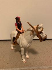Schleich Tunierpferd mit Reiterin -nochmal