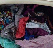 Getragene Höschen Unterwäsche Slips