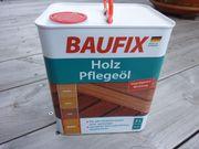 BAUFIX Holzpflegeöl 3Liter neu OVP