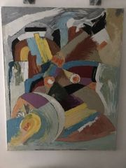 Rüdiger Faller Ölbild Komposition 2007