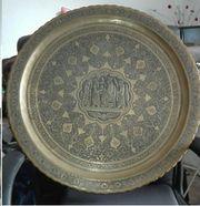 alt persische Teetischplatte 68 cm