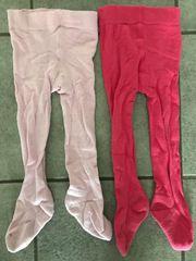 2x Tchibo TCM Strumpfhosen pink