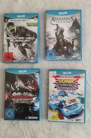 Biete diverse Wii-U Spiele