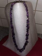 Amethyst-Splitter-Halskette