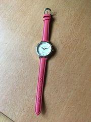 Armbanduhr Damen Band Rot Zustand