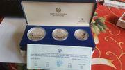 Olympia Münzen Sarajewo 1984 silber