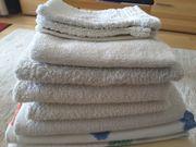 Badehandtücher und Handtücher