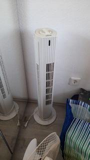 ventilator kühler säule drehende weiß