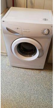 Waschmaschine sehr wenig benutzt