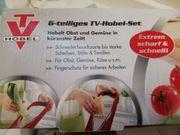 6 Teiliges TV-Hobel-Set