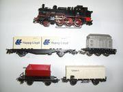 23 Märklin H0 Dampflokomotive Güterwagen