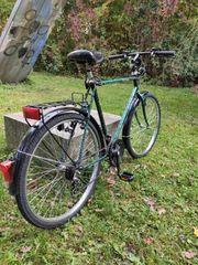 Fahrrad Trekking Bike Top Zustand