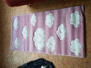 Kinderteppich pink weiß Kinderzimmer NEUWARE
